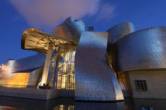 Guggenheim Museum in Bilbao, Spain Royalty Free Stock Image