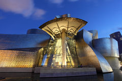 Guggenheim Museum in Bilbao, Spain Royalty Free Stock Photo