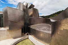 The Guggenheim Museum in Bilbao Stock Photos