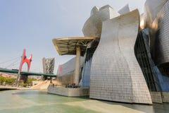 Guggenheim Museum in Bilbao, Spain Stock Image