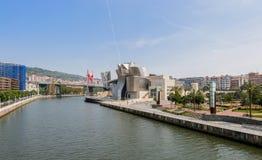 Guggenheim Museum in Bilbao, Spain Stock Photo