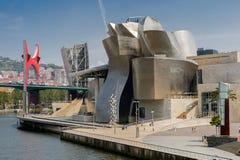 Guggenheim Museum in Bilbao, Spain Royalty Free Stock Photos