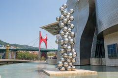 The Guggenheim Museum in Bilbao Stock Images