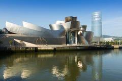 Guggenheim Museum in Bilbao Stock Images