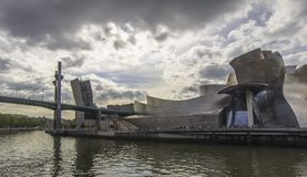 Guggenheim Museum, Bilbao Stock Photos