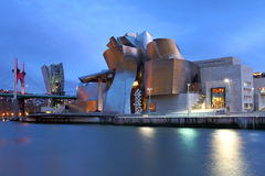 Guggenheim Museum, Bilbao, Spanien Lizenzfreie Stockfotos