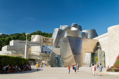 Guggenheim museum in Bilbao Royalty Free Stock Photo