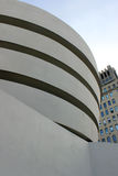Guggenheim museum exterior detail Royalty Free Stock Photos