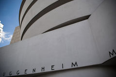 The guggenheim museum Stock Images