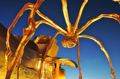 Guggenheim museum i Bilbao, Spanien Royaltyfria Bilder