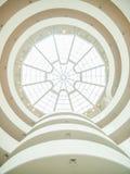 Guggenheim Museum Interior Royalty Free Stock Photo