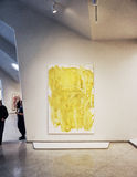 Guggenheim Museum modern art painting Royalty Free Stock Images