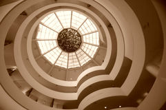 Guggenheim museum, New York stock photos