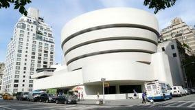Guggenheim-Museum in New York City stockbilder