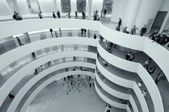 Guggenheim Museum New York City. The famous Solomon R. Guggenheim Museum of modern and contemporary art, on November 2nd, 2013 in New York City, USA Royalty Free Stock Photos