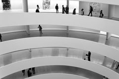 Guggenheim Museum New York City Stock Images
