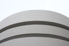 Guggenheim Museum New York Exterior Stock Photo