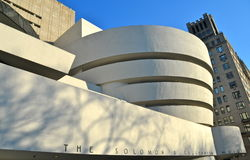 The Guggenheim Museum, NYC Royalty Free Stock Images