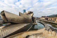 Guggenheim museum Stock Images