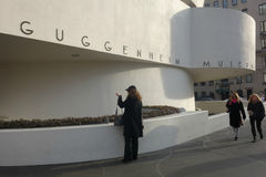 Guggenheim Museum in New York City Royalty Free Stock Images