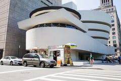 Guggenheim museum. Solomon R. Guggenheim Museum of modern and contemporary art. New York City Stock Photography