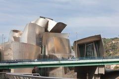Guggenheim Museum von Bilbao lizenzfreie stockfotos