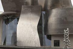 Guggenheim muzeum Bilbao, Hiszpania Zdjęcie Stock