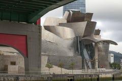 Guggenheim muzeum Bilbao, Hiszpania Fotografia Royalty Free