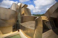 Guggenheim Muzeum Hiszpania - Bilbao - Obrazy Royalty Free
