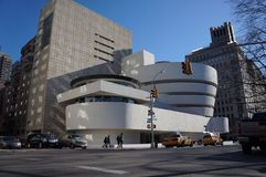 Guggenheim new york Stock Photo