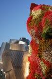 Guggenheim staty royaltyfri bild