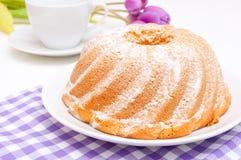 Guglhupf Cake Stock Image