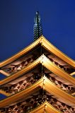 Guglia Asakusa Giappone del tempio di Sens?-ji Fotografia Stock
