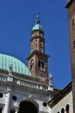 Guglia della torre di Bissara a Vicenza Immagini Stock Libere da Diritti