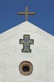 Guglia spagnola della chiesa Fotografia Stock