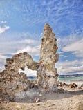 Guglie della roccia, mono lago Fotografie Stock