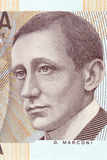 Guglielmo Marconi portrait Stock Photos