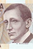 Guglielmo Marconi portret zdjęcia stock