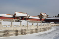 GuGong (città severa, Zijincheng) Fotografie Stock Libere da Diritti