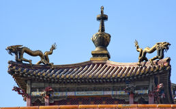 Gugong Forbidden City Palace Dragon Pavilion Royalty Free Stock Photography