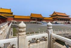 Gugong Forbidden City slott - Peking Kina royaltyfria bilder