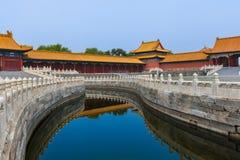 Gugong Forbidden City slott - Peking Kina arkivfoton