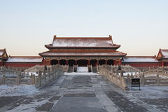 GuGong (Forbidden City, Zijincheng) Stock Images