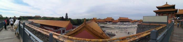 """Gugong a Pechino, vecchia parete di ŒWhich del ¼ del buildingï nel palazzo CityåŒ-京故 城墙 del """"del çš del å® « fotografia stock libera da diritti"""
