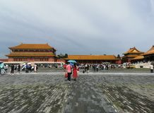 "Gugong in Peking, alte buildingï ¼ ŒWhich-Wand im Palast CityåŒ-京故 å® ""çš ""城墙 stockfotos"