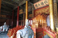 GuGong & x28; Verboden City& x29; in Peking, China Royalty-vrije Stock Afbeelding