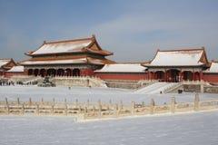 GuGong (Verboden Stad, Zijincheng) Stock Foto