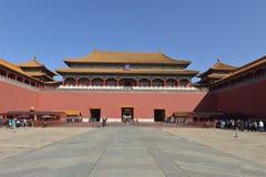 GuGong & x28; 故宫& x29;在北京,中国 库存图片