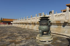 GuGong (Forbidden City) in Beijing, China Royalty Free Stock Photography