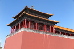 GuGong (Forbidden City) in Beijing, China Royalty Free Stock Photos